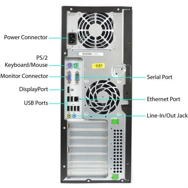 HP ELITE 8200 TOWER