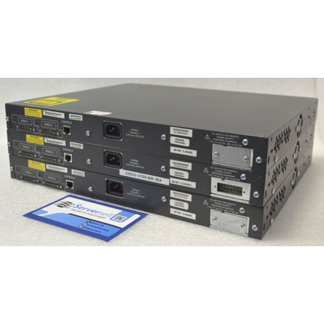 CISCO WS-C3750-48PS-S