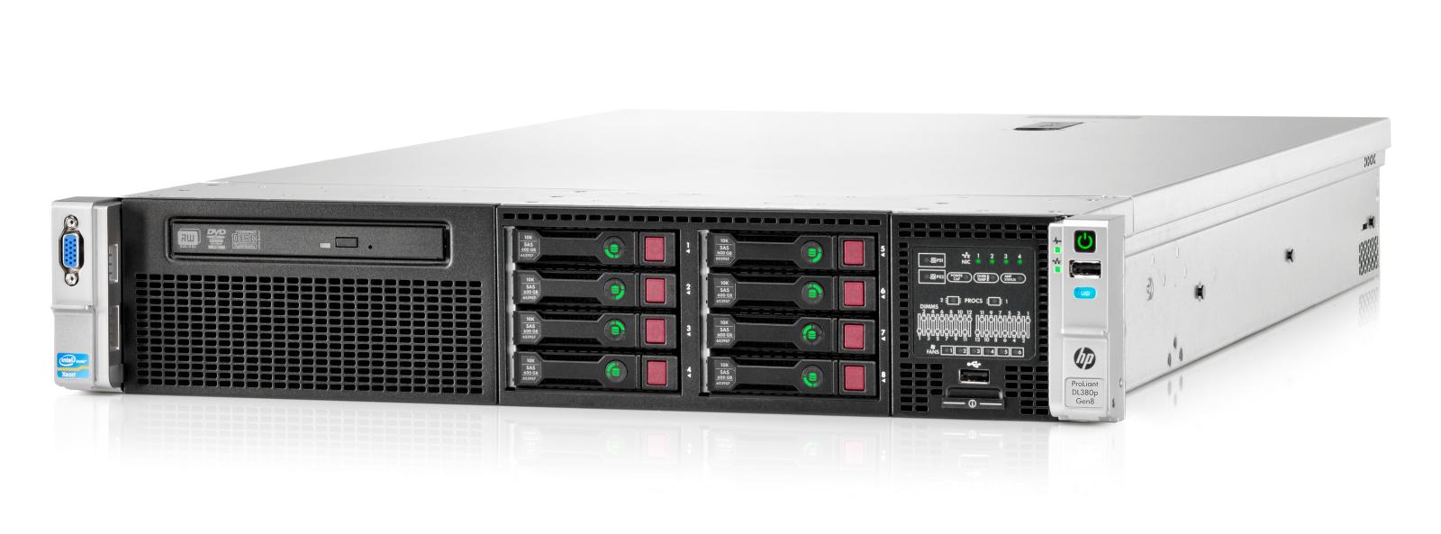 Обзор стоечного сервера HP ProLiant DL380p Gen8